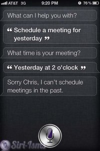 Schedule A Meeting For Yesterday... - Crazy Siri Shit