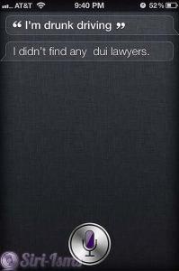 I'm Drunk Driving - Siri Says
