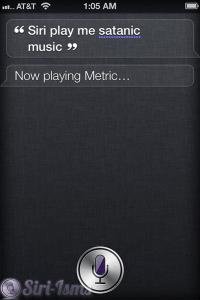 Siri Play Me Satanic Music - Funny Siri Sayings
