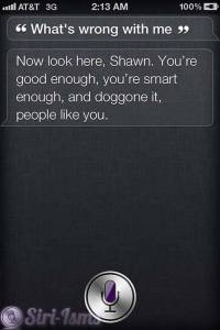 What's Wrong With Me? - Siri Quotes