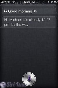 Good Morning - Siri Says Funny Shit