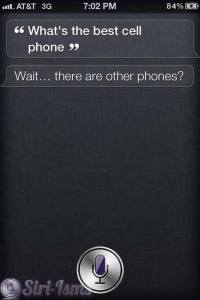 What Is The Best Cell Phone? - Siri Says