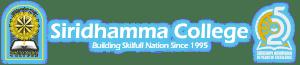 Siridhamma College Logo Anniversary