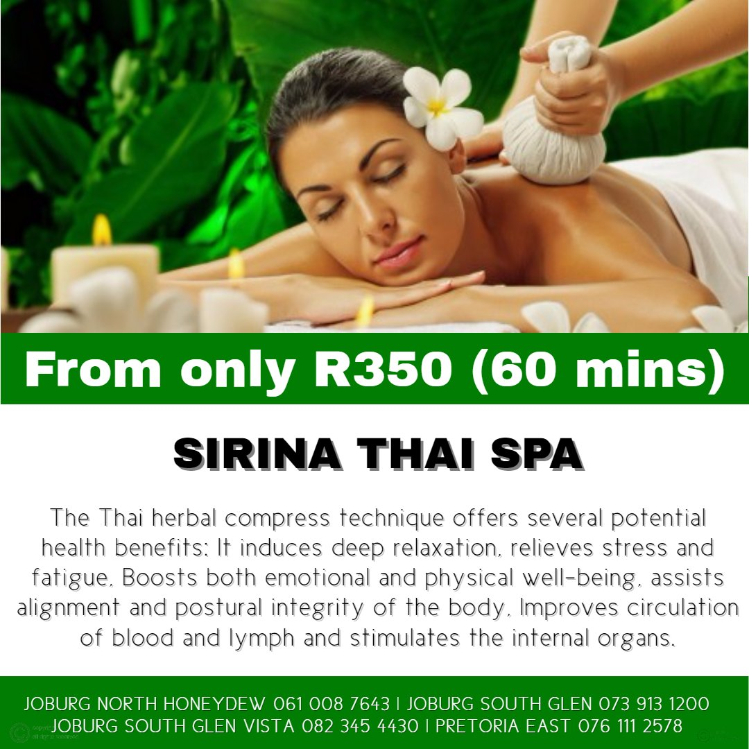 Sirina Thai Spa Herbal Compress