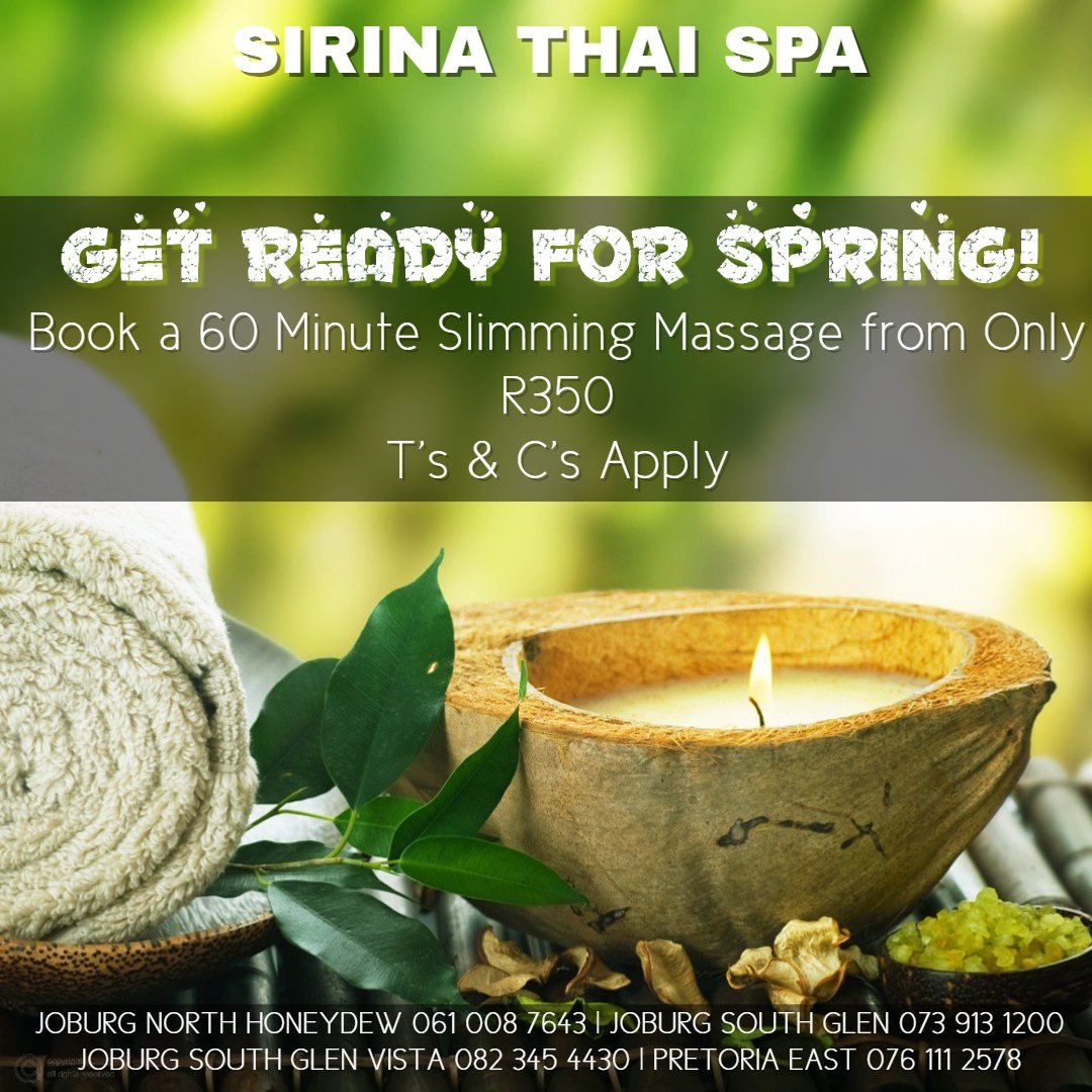 Sirina Thai Spa Scrub Thai Massage Spa