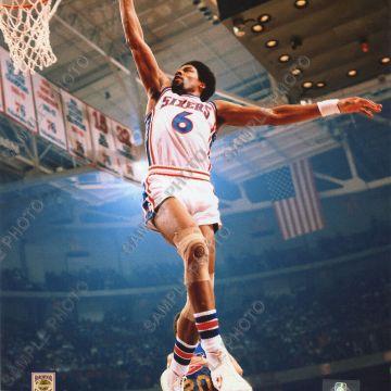 """SIRIS - Julius Erving """"Dr. J"""" Dunking the Basketball"""