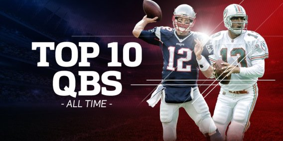 top 10 QB's of all time