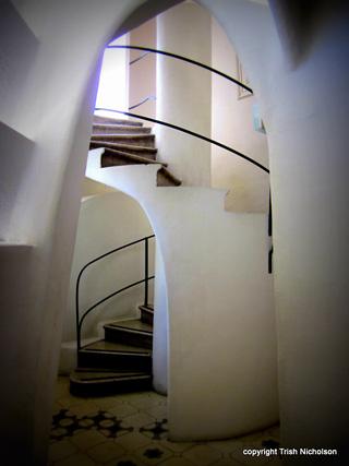 Antoni Gaudí: Stairs At Casa Mila