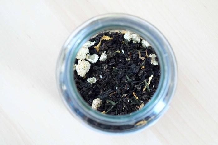 grønn gresshoppe-te