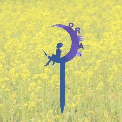 garden fairy dream purple flowers