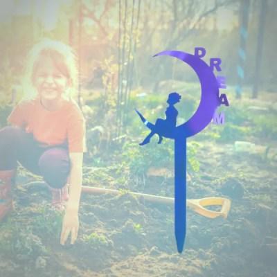 garden fairy dream purple girl
