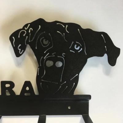 key holder lab face