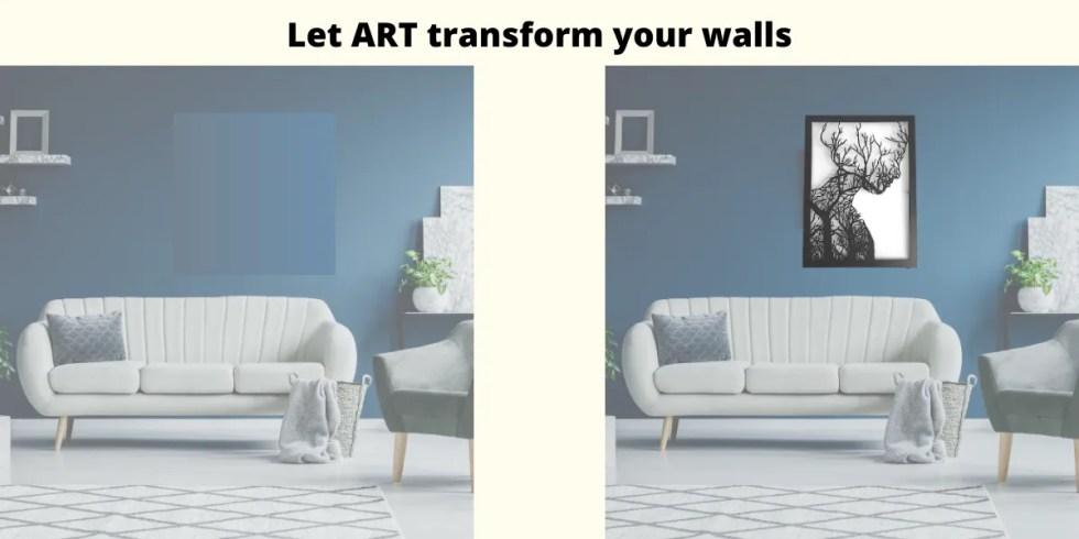 Let Art transform your walls