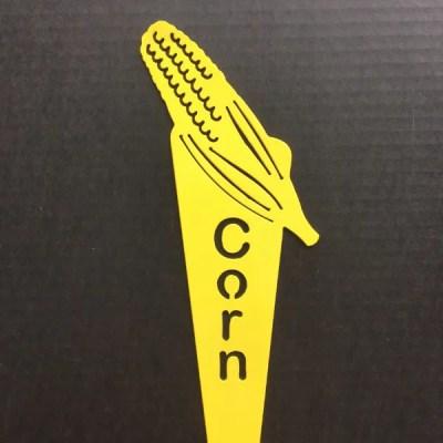 garden marker corn