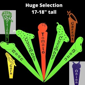 how prepare your garden with metal garden markers-huge selection 18""
