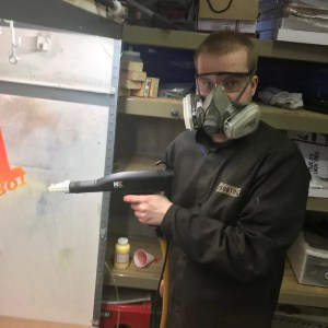 powder coating safety
