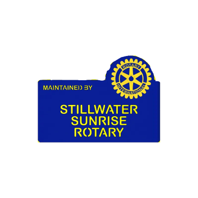 Stillwater Sunrise Rotary Blue