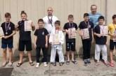 """Pregršt medalja za takmičare kluba """"Jiu jitsu MMA Bezbednost"""""""