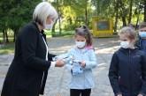 Gradonačelnica uručila zaštitne maske đacima