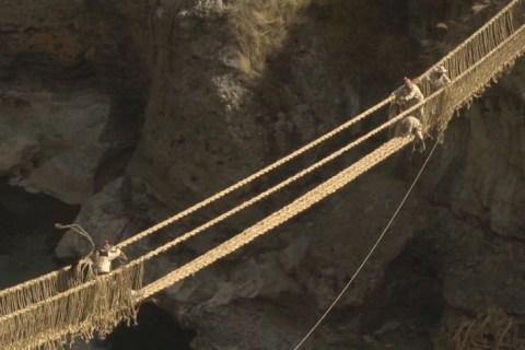 Q'eswachaka, el último puente inca