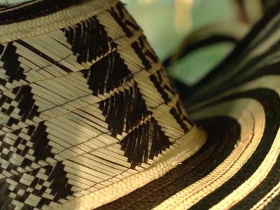 Detalle sombrero vueltiao