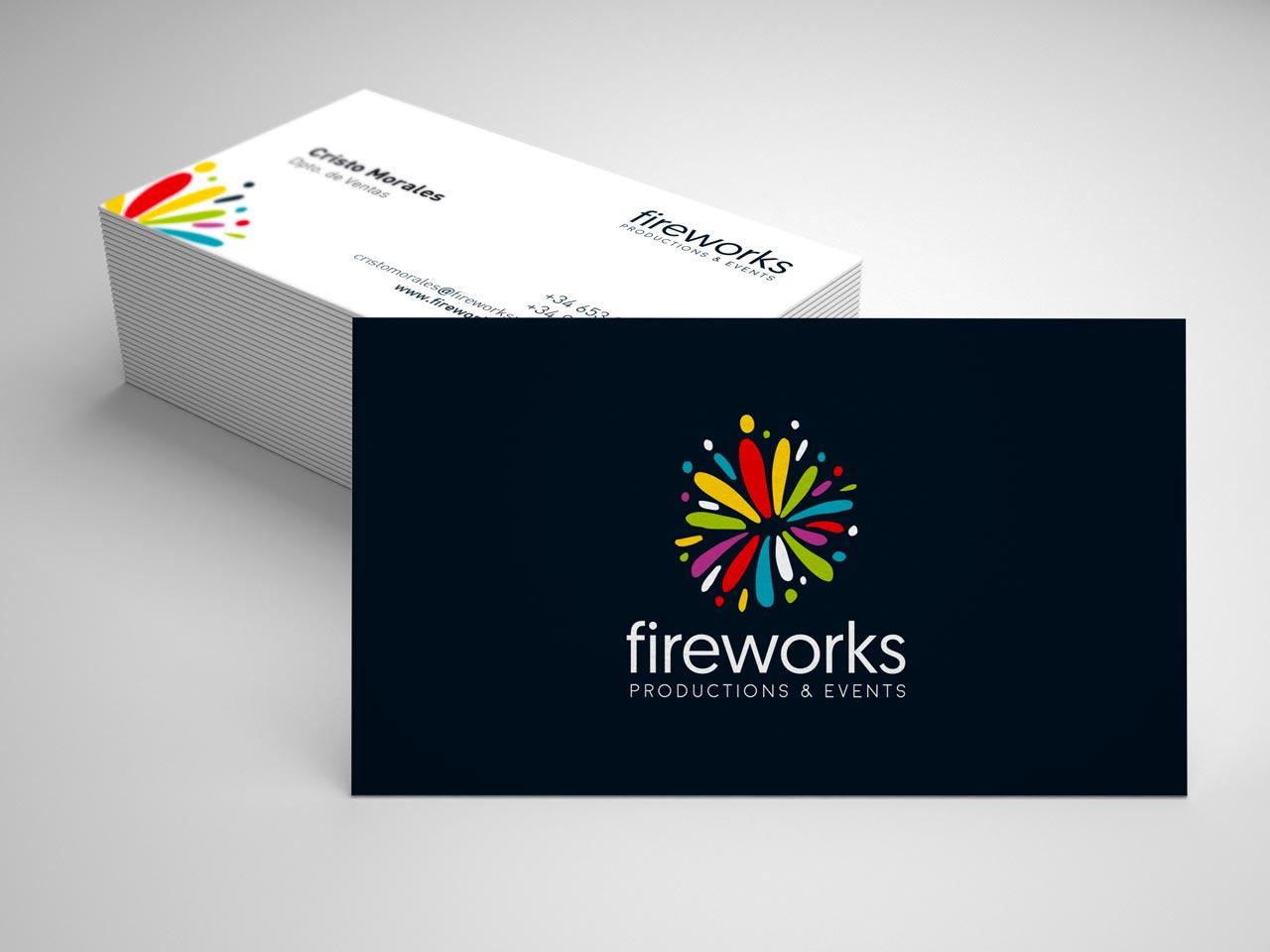 tarjetas fireworks por Siroco