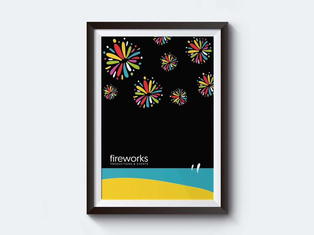cartel Fireworks por Siroco
