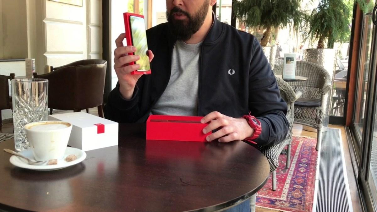 Unboxing : OnePlus 5