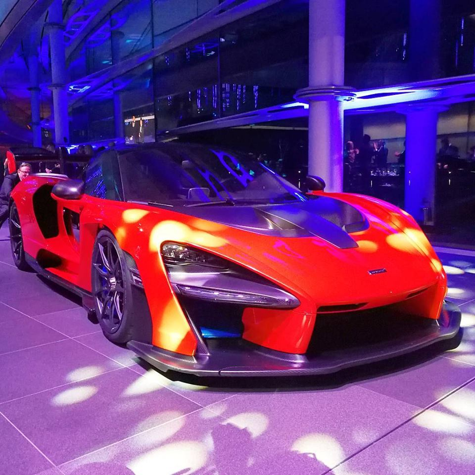Officiell : McLaren Senna