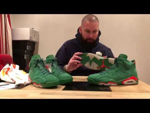 "Review : Air Jordan 6 Retro NRG G8RD ""Gatorade"" / ENERGY GATORADE / ""Pine Green"""