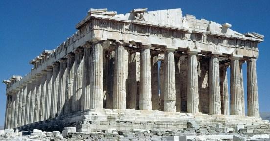 Ristorante Greco milano - cultura greca - tempio