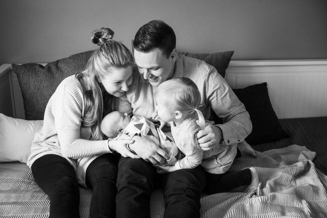 Perhe ja vauva