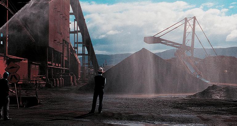 Polvo en la industria