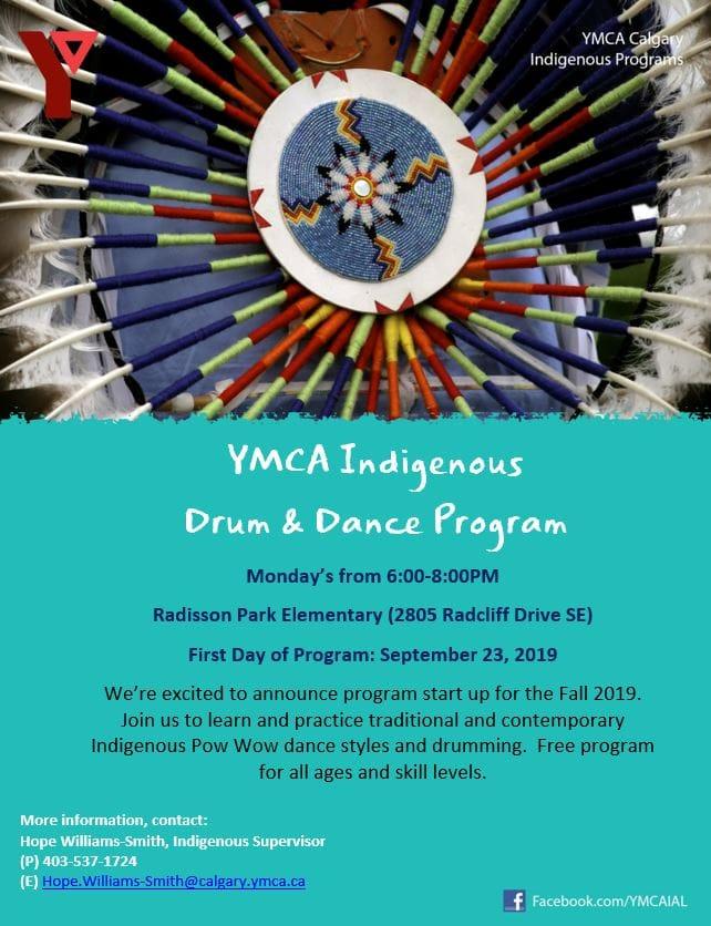 YMCA Indigenous Drum & Dance Program