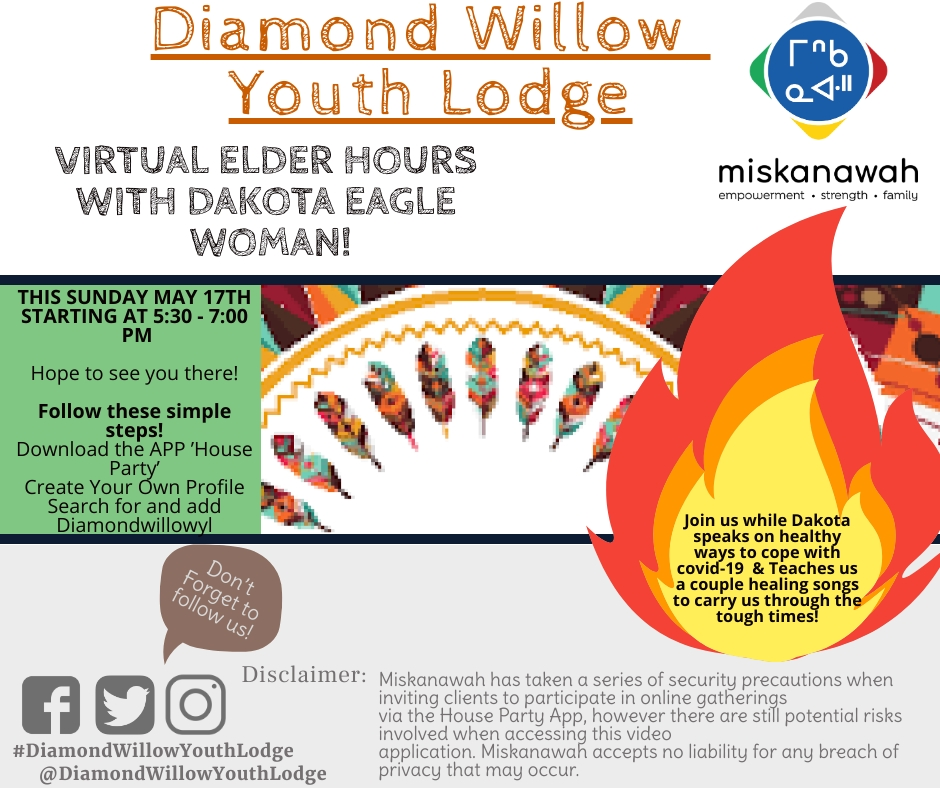Virtual Elder Hours with Dakota Eagle Woman!