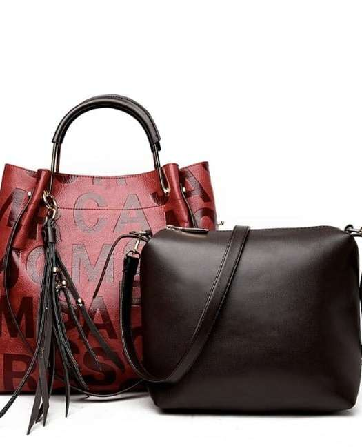 Duality: Two Leather Bags