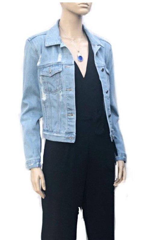 New York: Stylish Denim Jacket