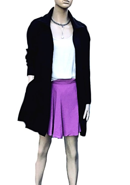 Tina: Timeless Sunny Girl Knitted Coat