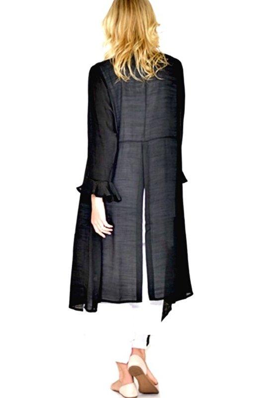 Portia: Superb Long Open Jacket