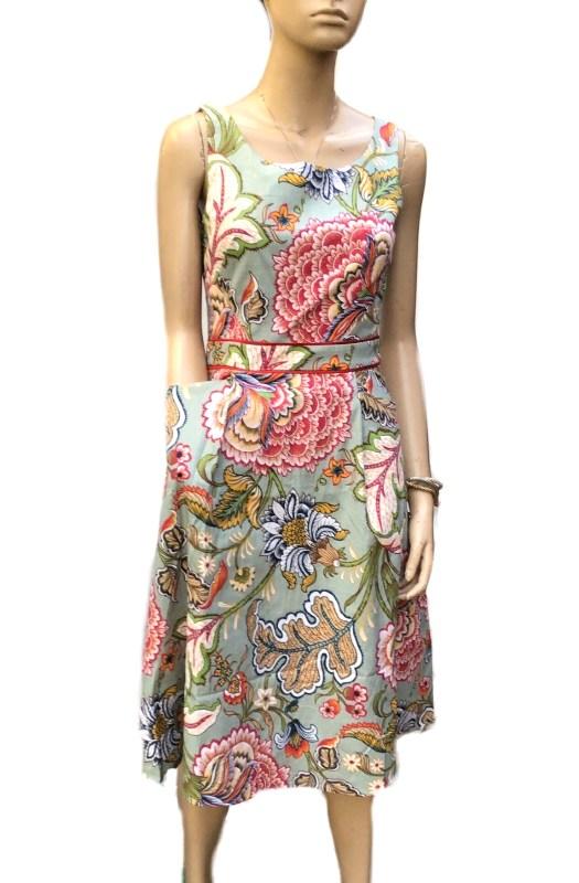 Chrysanthemum: Stunning Sunny Girl Cotton Dress