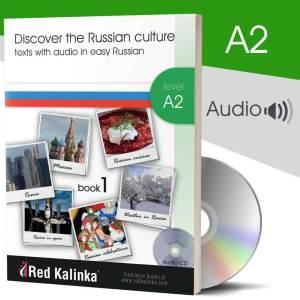 Discover Russian culture + audio: Level A2 Book 1 (paper)
