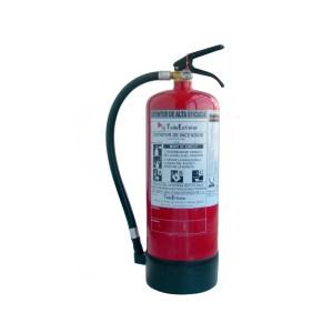 Extintores de agua + aditivos