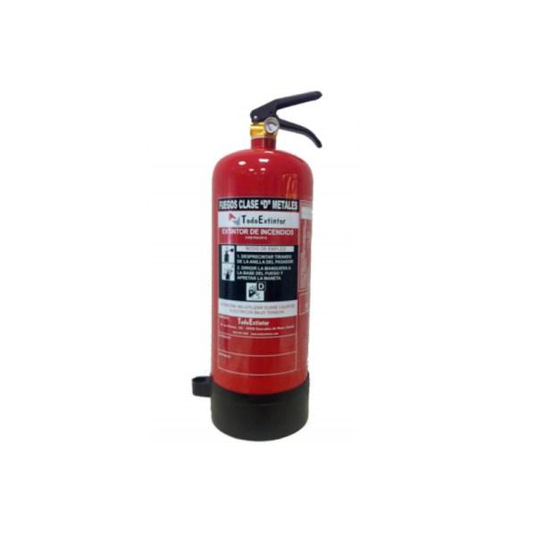 Extintor TPD-6KG