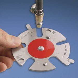 Aplicacion real del bloqueo neumático de los enchufes rápidos con el disco