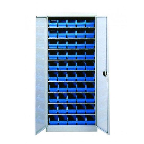 Armario con puertas equipados con gavetas de pico «ECO»
