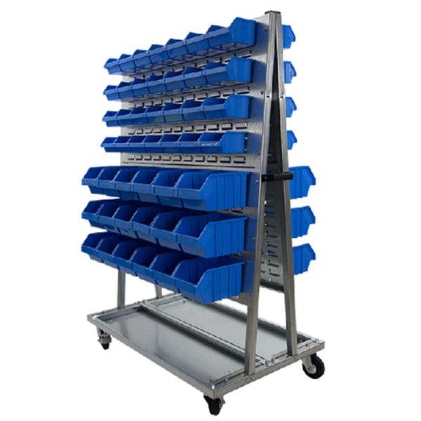 Carritos equipados con gavetas de pico «ECO»
