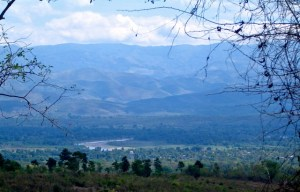 Deschapelles, Haiti from the mountain top