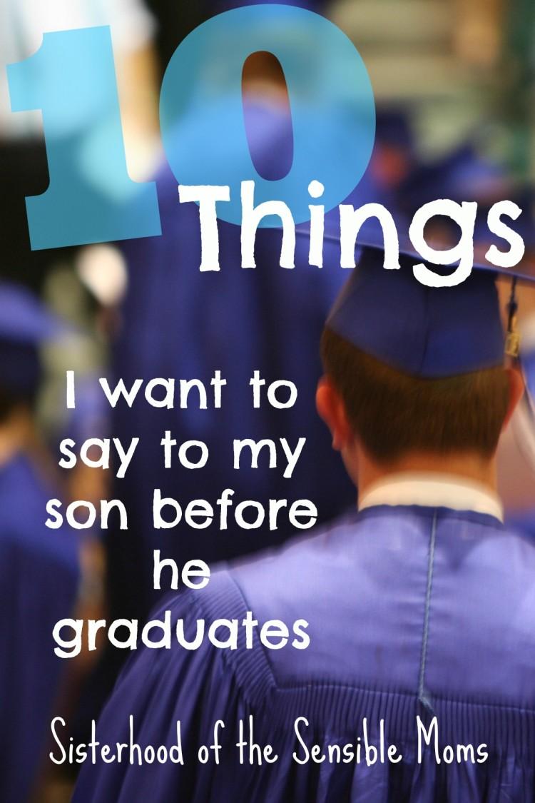 Message Son Graduation Parents