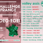 CHALANGE FRANCE VOLLEY ASSIS SISTERON 2020/2021…!!!