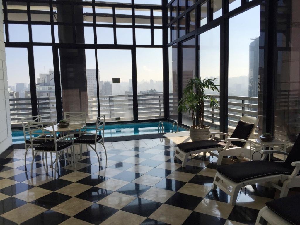 Piscina indoor Hotel Radisson Faria Lima